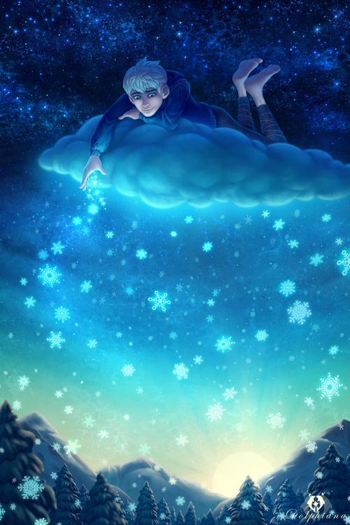 by dolphydolphiana tags : jack frost dreamworks rise of the guardians art illustration fanart men