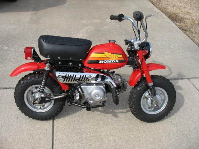 Honda other ebay honda 50z mini trail motos monkeys and mini honda bikes publicscrutiny Choice Image