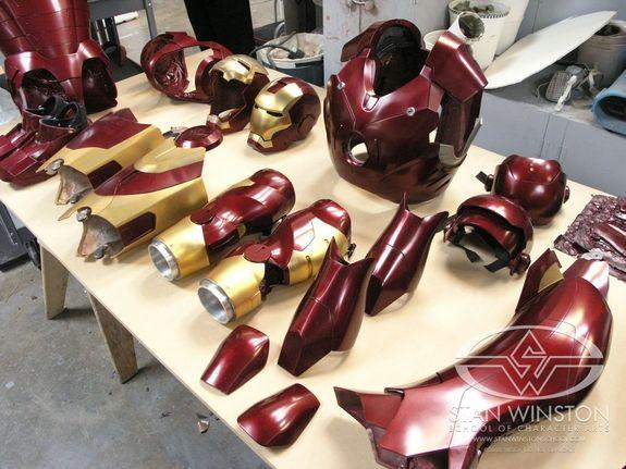 Iron Man - The Real Iron Man Suit | Stan Winston School of ...