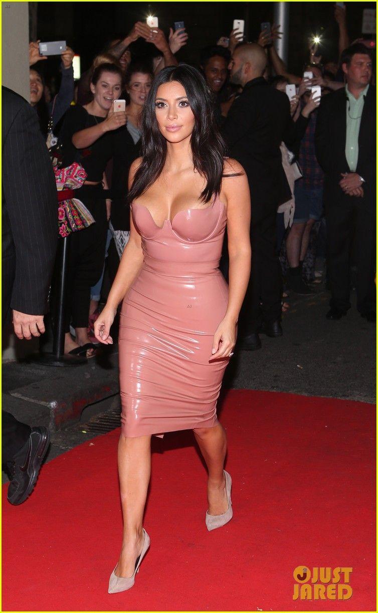 Kim kardashian pink latex dress naked (98 image)