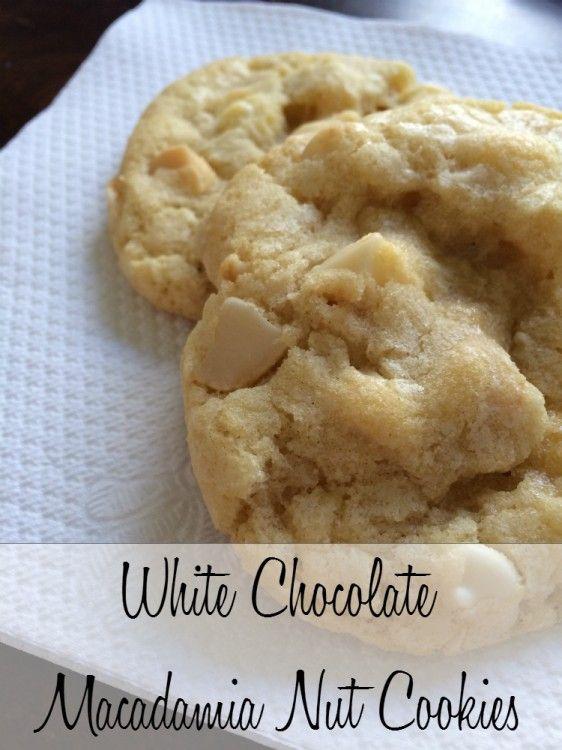 Recipe: White Chocolate Macadamia Nut Cookies - Being Mrs. Beer