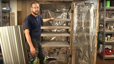 How To Build A Homemade Pallet Smoker   Backyard smokers ...