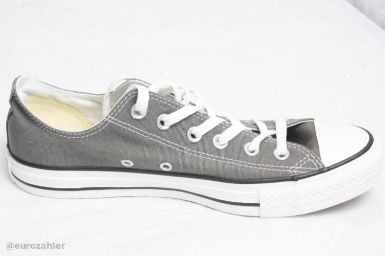 Converse 1J794 CT A/S Seasnl ox Gr.44.5 Charcoal Holzkohle Grau Herren  Sneakers