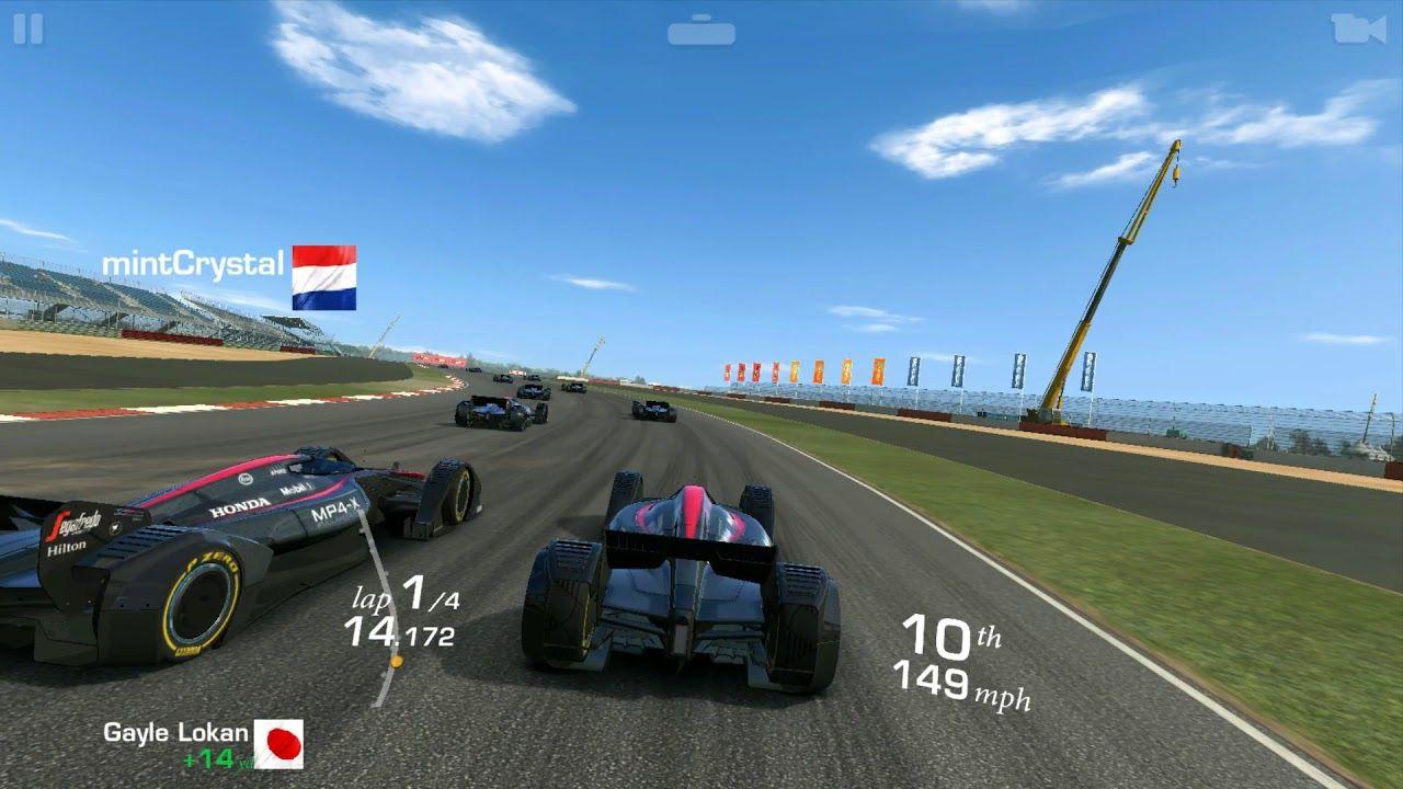 Mclaren Mp4 X Real Racing 3 Android And Ios Gameplay Circuit De