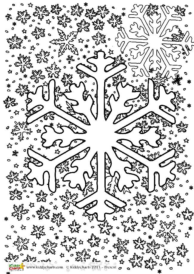 Winter colouring pages for adults and kids (With images