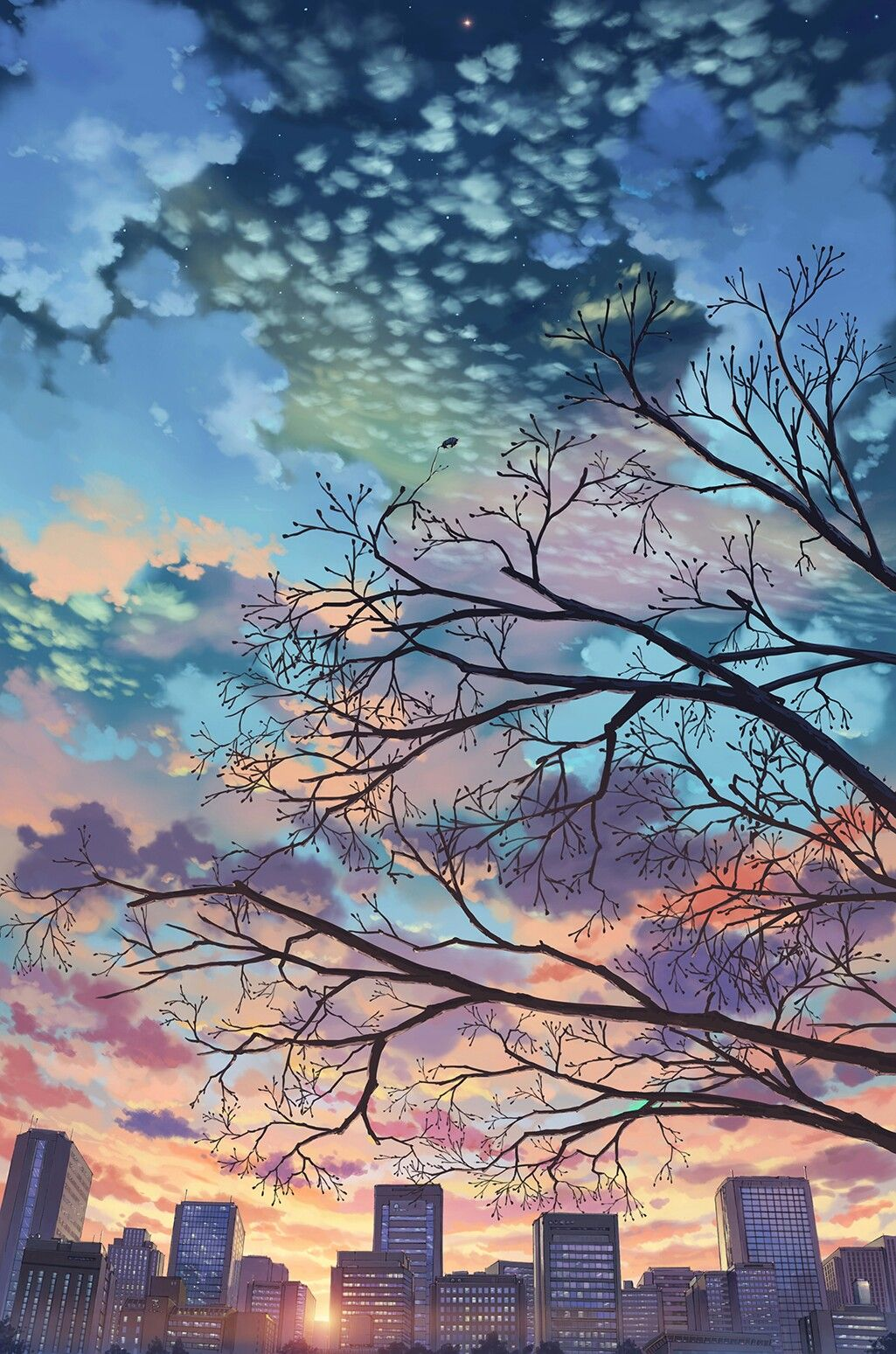 Rainbow Skies 🌈 Anime scenery, Scenery, Anime background