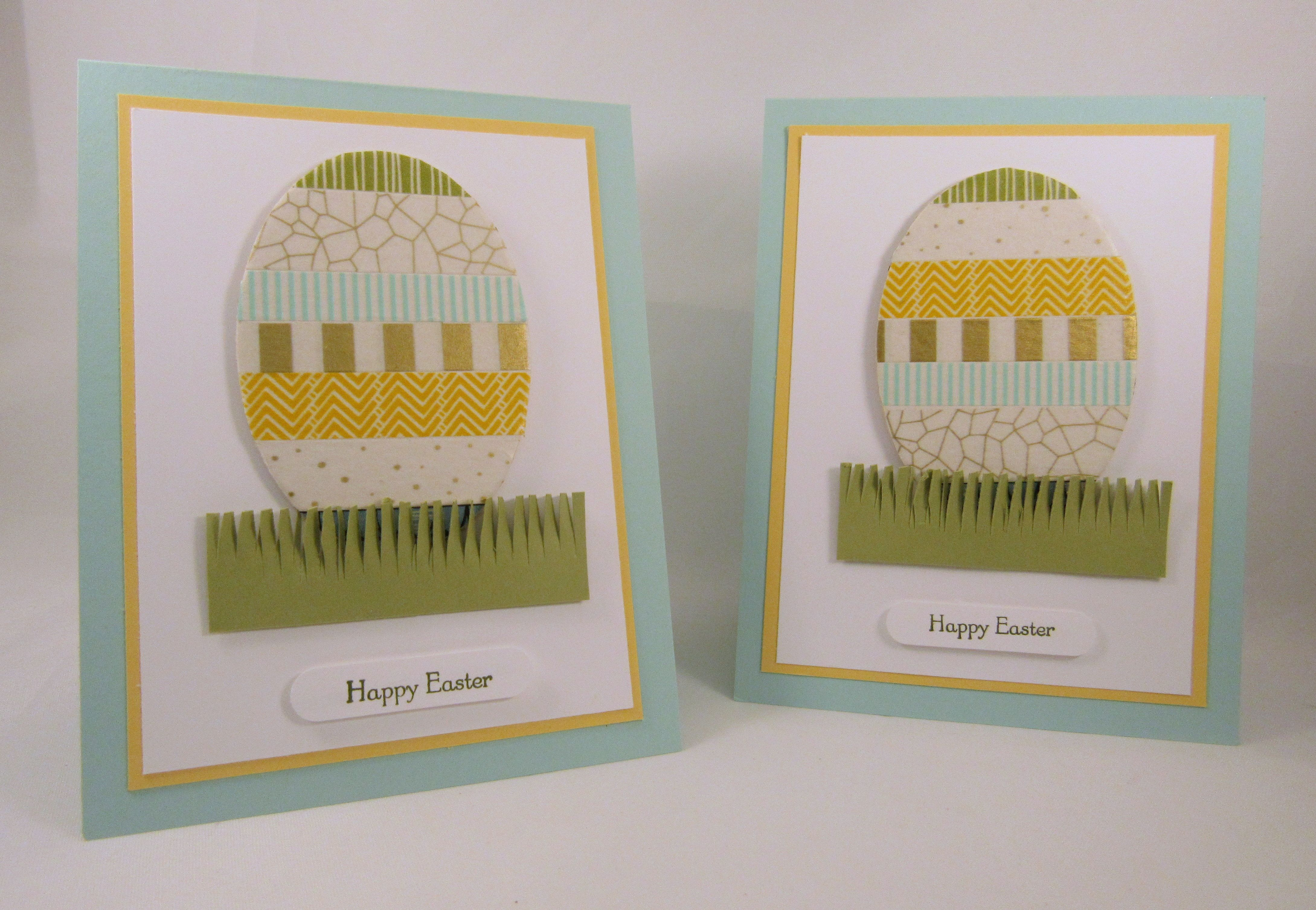 Stampin' Up! Washi Tape Easter Eggs
