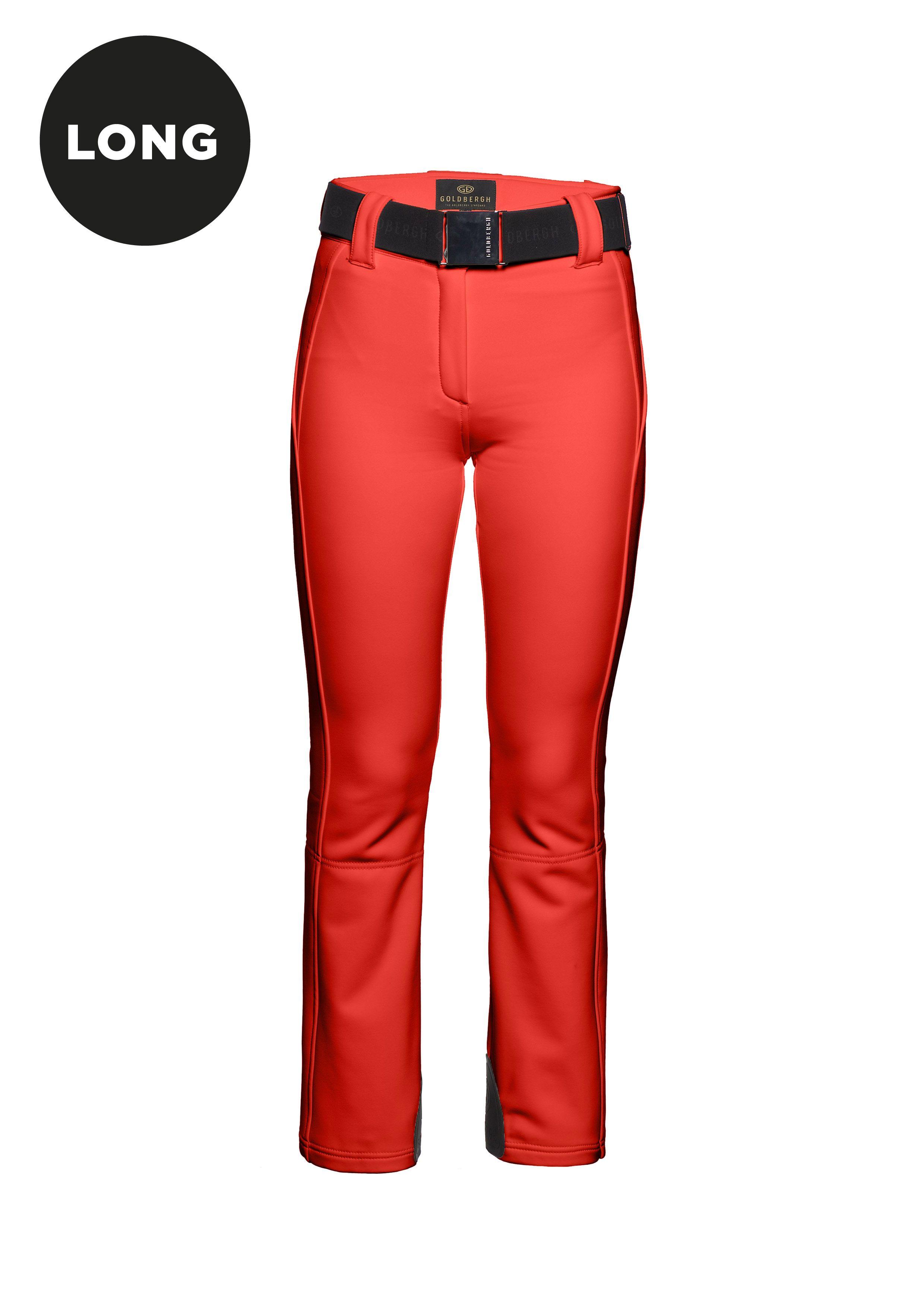 c909d3f75c Pippa GB01-71-173 GB0171173 Red ski pants Fashionable skiwear. luxury  skiwear For tall women. 4 way stretch. 3 layer. softshell.