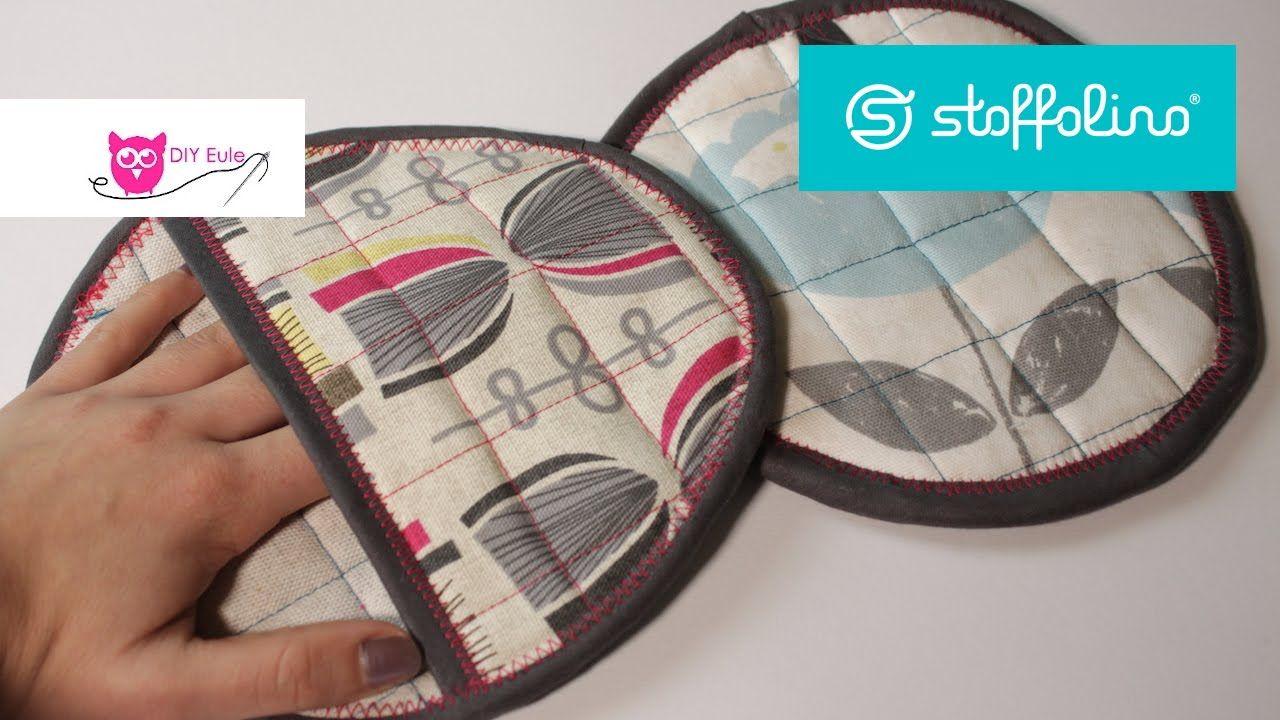 Verlosung & runde Topflappen nähen Stoffolino DIY Eule