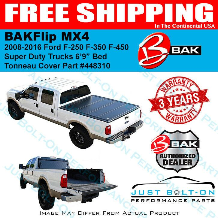 BAKFlip MX4 Hard Folding Bed Cover for 20082016 Ford F