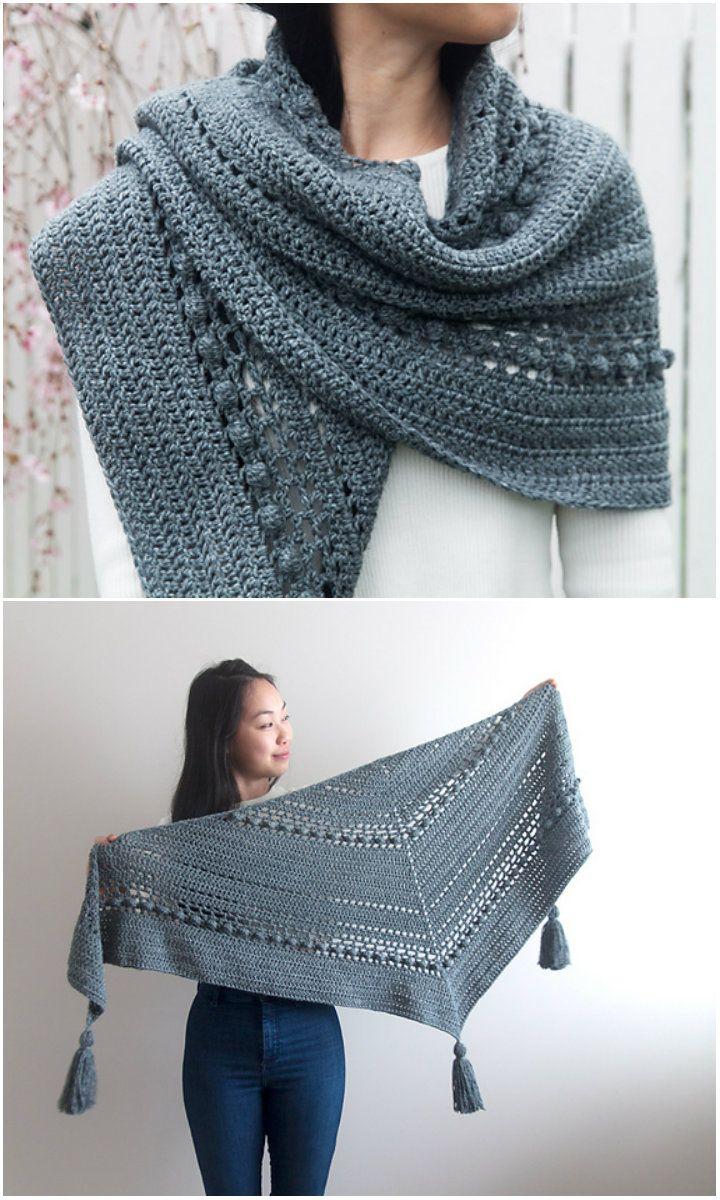 Stormborn Shawl Crochet