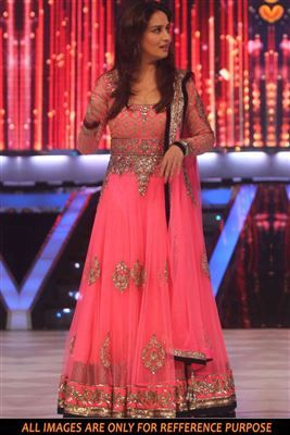 43cec16ae3 image of Madhuri Dixit Pink Net Bollywood Salwar Suit-1332 ...