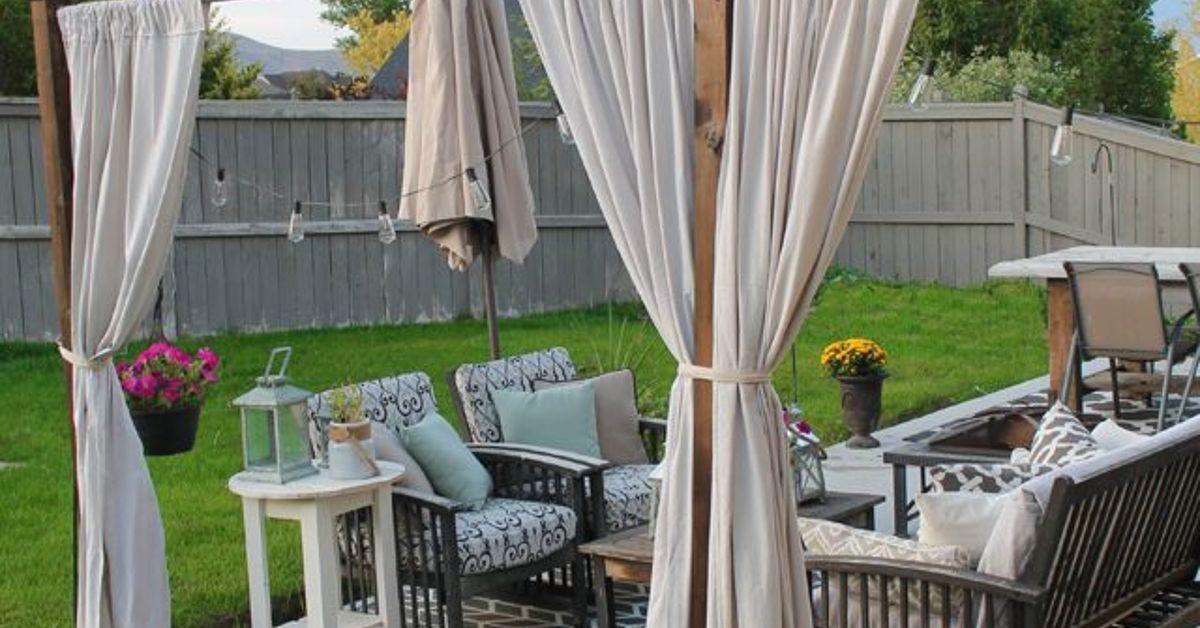 DIY Outdoor Privacy Screen | Privacy screen outdoor diy ...