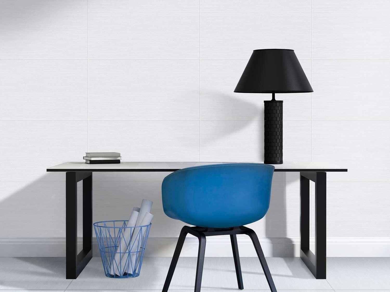 Ctm bathroom designs - Futura Textile Grey 600 X 300 Mm Matt Finish Ceramic Wall Tile Ctm