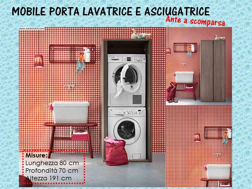 Mobile Ante Scorrevoli Fai Da Te.Mobile Porta Lavatrice E Asciugatrice Ante A Scomparsa