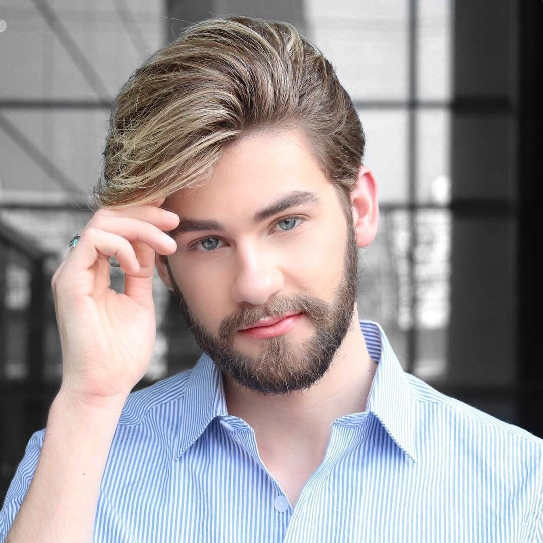 Mens haircuts with beards beards carefully curated u lincoln brasil  faceus  pinterest