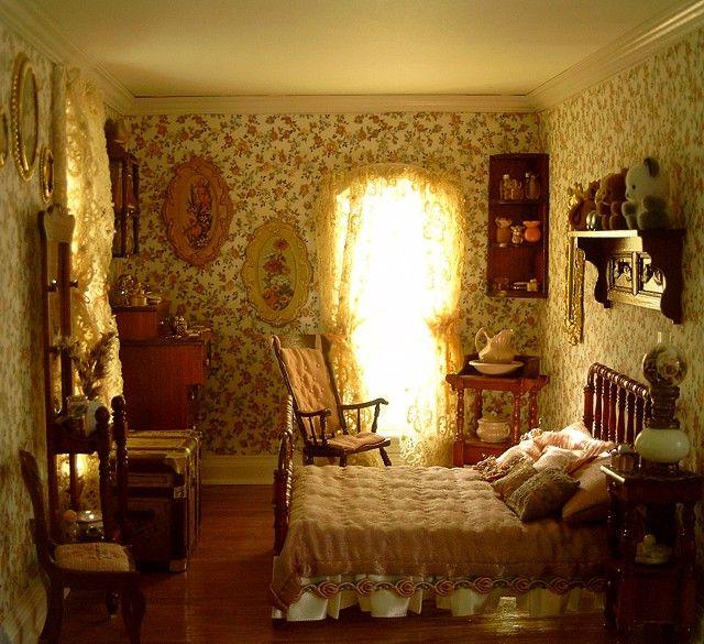 dollhouse number 11 san francisco townhouse miniature. Black Bedroom Furniture Sets. Home Design Ideas