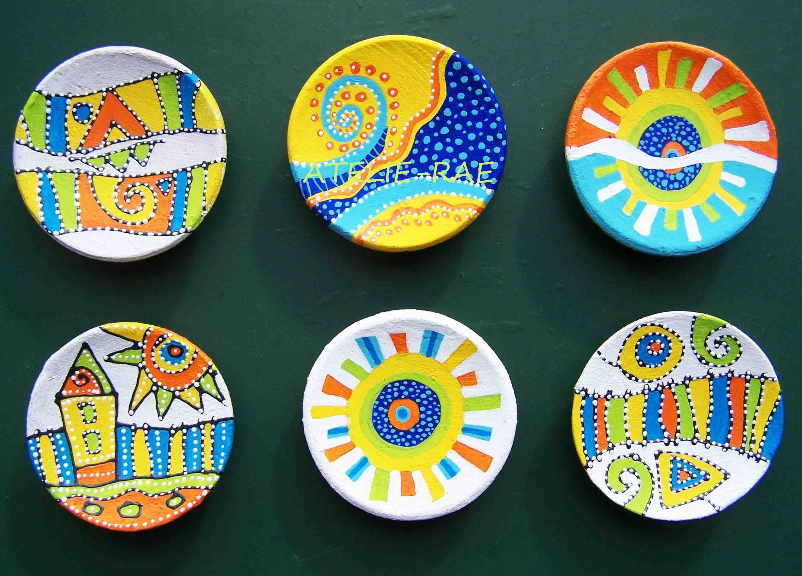 Hand Painted Ceramics Acrylic Paints Www Atelie Rae Eu Ceramic Painting Painted Ceramic Plates Hand Painted Ceramics