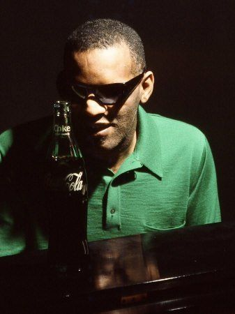 Ray Charles Taping a Coca-Cola Radio Commercial, 1967 Premium Poster Print, 12x16 by AllPosters US, http://www.amazon.com/dp/B005CKIDYS/ref=cm_sw_r_pi_dp_xhh9qb16WSXXQ
