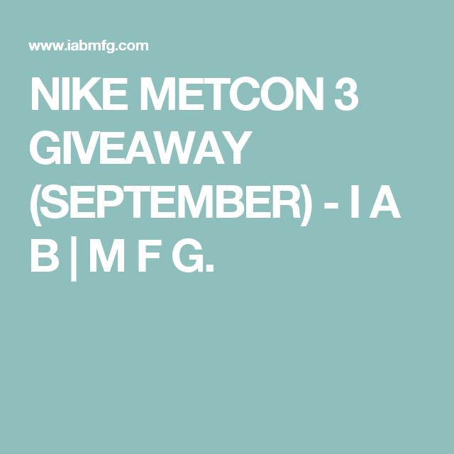 nike metcon 3 omaggi (settembre) pinterest indizio