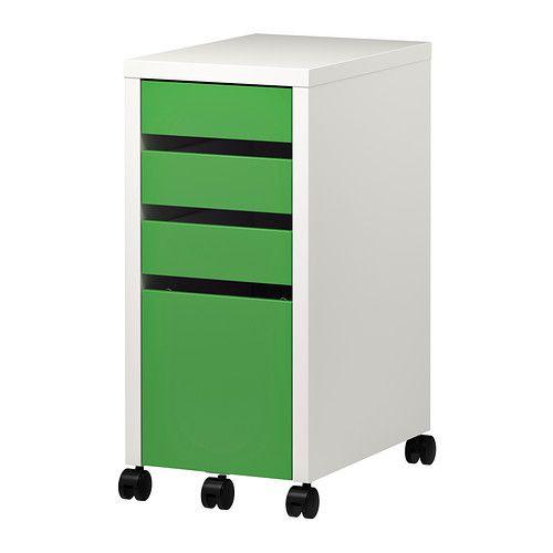 micke caisson tiroir classeur blanc house bureau office craft room pinterest. Black Bedroom Furniture Sets. Home Design Ideas