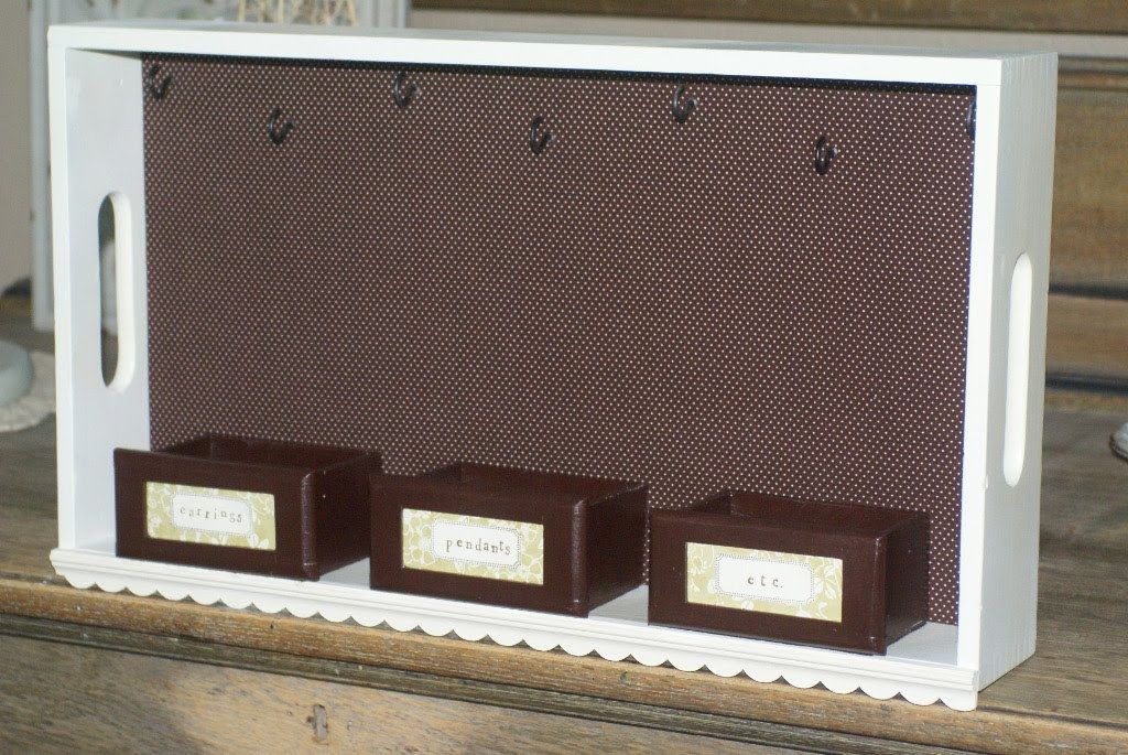 From wooden trays to hanging jewelry organizers Need to make this
