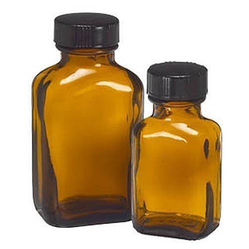 1 Oz Amber Glass Blake Bottles 48 Case