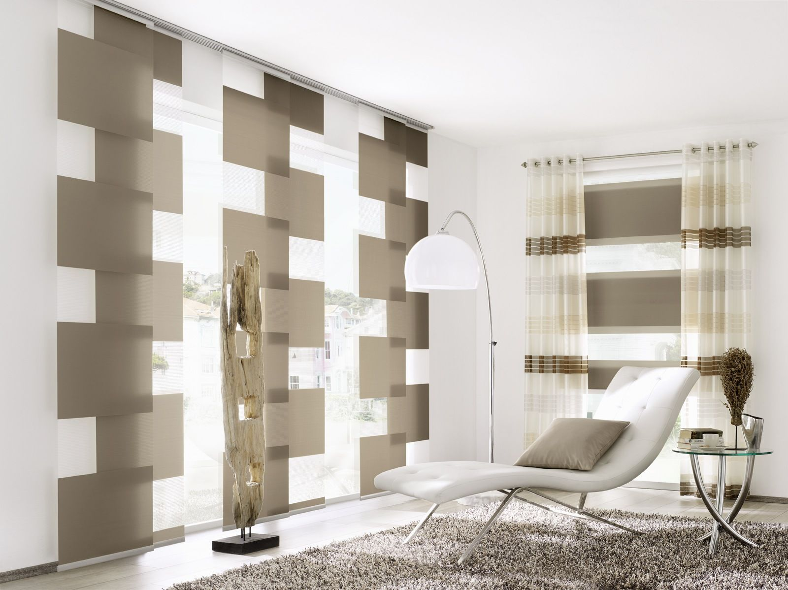 bildergebnis f r moderne gardinen wohnzimmer wohnzimmer. Black Bedroom Furniture Sets. Home Design Ideas
