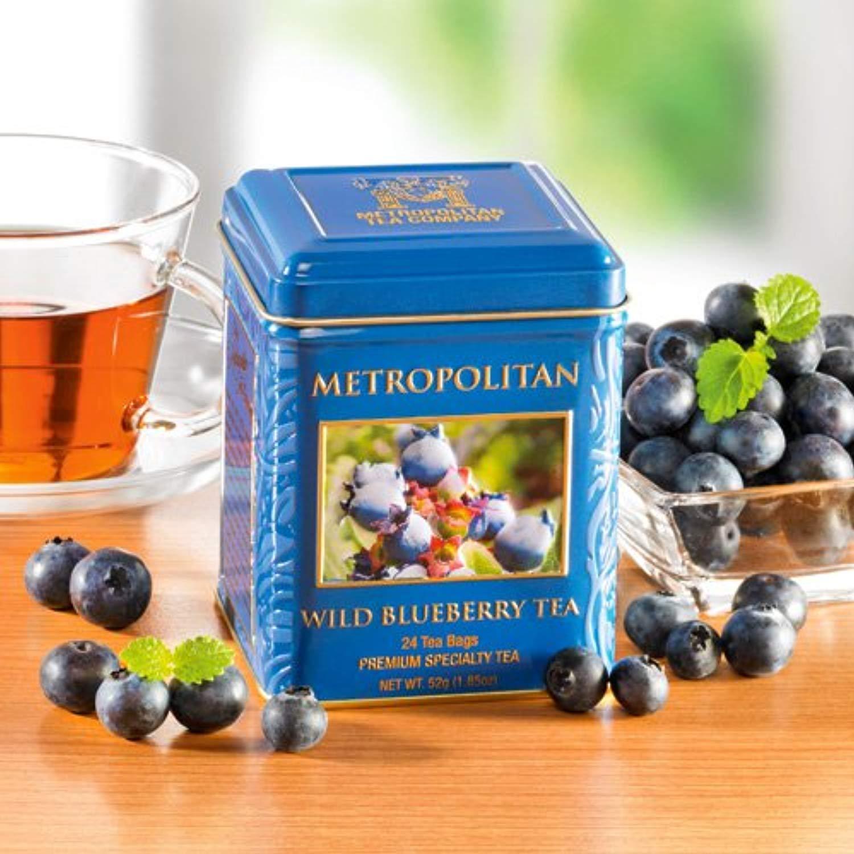 Wild Blueberry Black Tea by Metropolitan 24 Bags in
