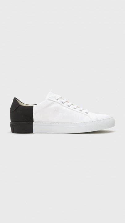 295f21eb35b0 Woman by Common Projects x 6397 Sneaker in Black White