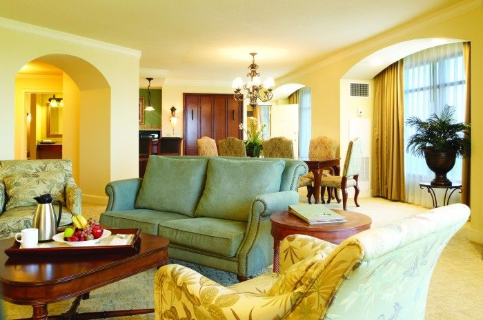 Rosen Shingle Creek >> Executive Suite Living Area Rosen Shingle Creek Orlando