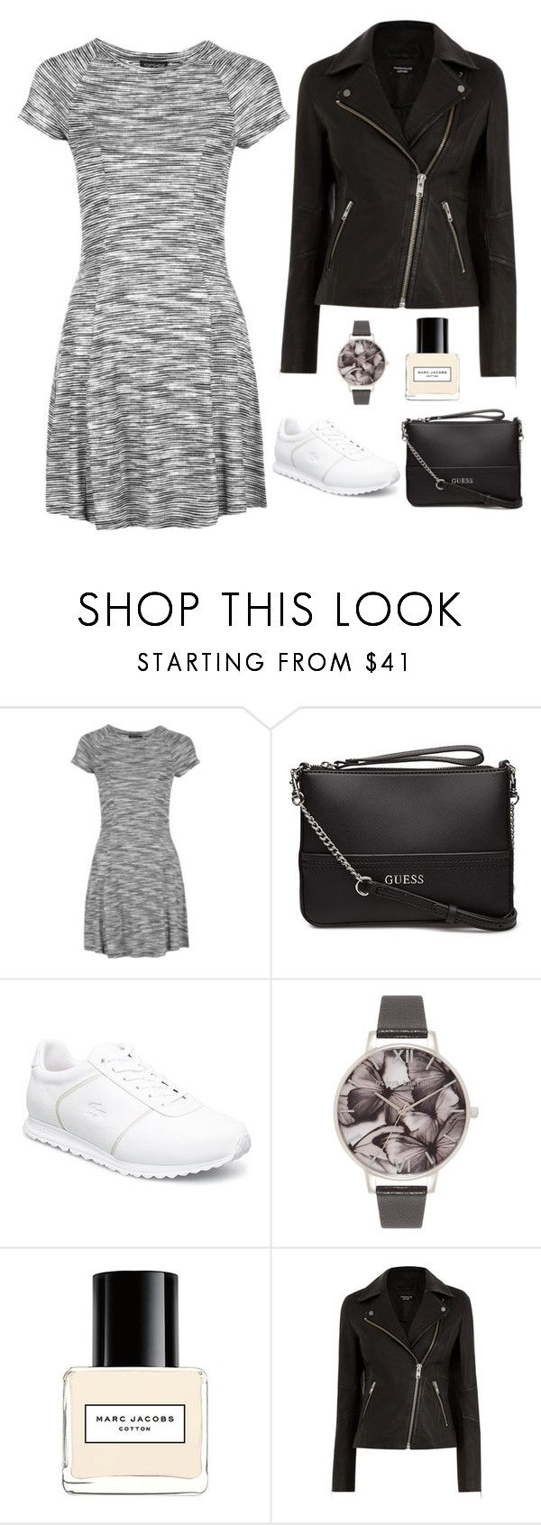 """""""Casual 20"""" by aki-g ❤ liked on Polyvore featuring Topshop, Olivia Burton, Marc Jacobs and Warehouse"""