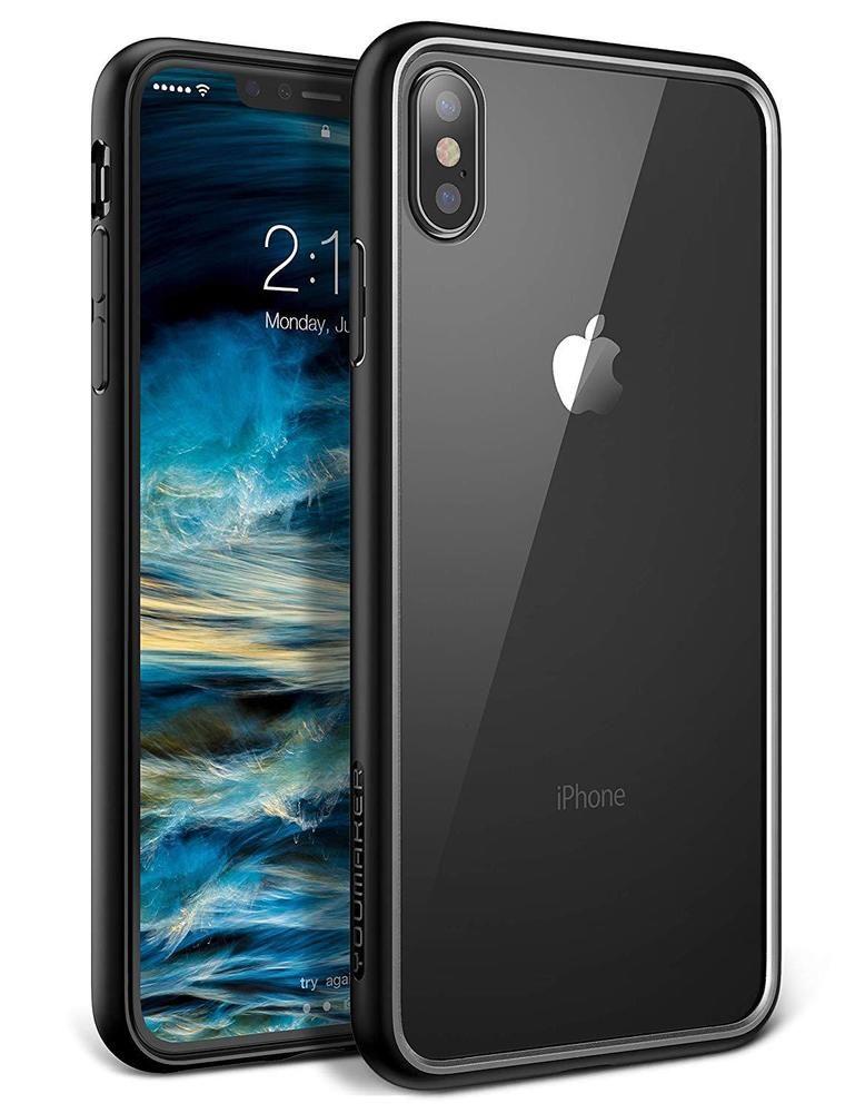 Original Phone Iphone X Ultra Thin Cute Colors PP Cases