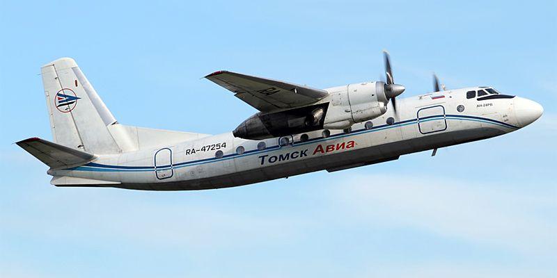 Антонов Ан-24- пассажирский самолет. Фото, характеристики ...