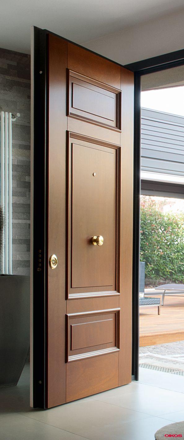 Classical Wooden Single Door Designs For Room: Evolution_sf_09_Ligne_Legno_Massello_Modele_Classica