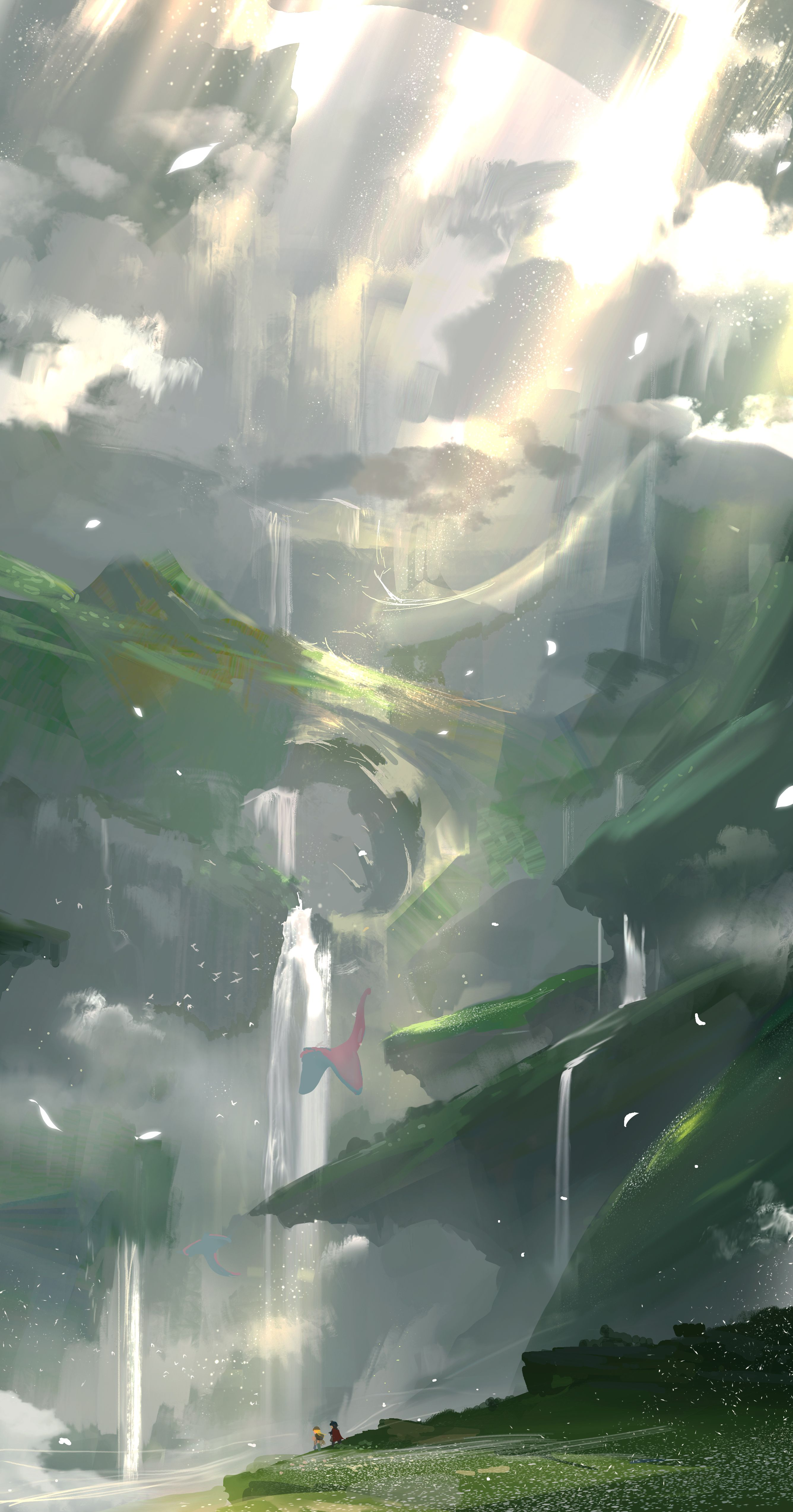 Made In Abyss Anime Scenery Abyss Anime Anime Wallpaper Iphone