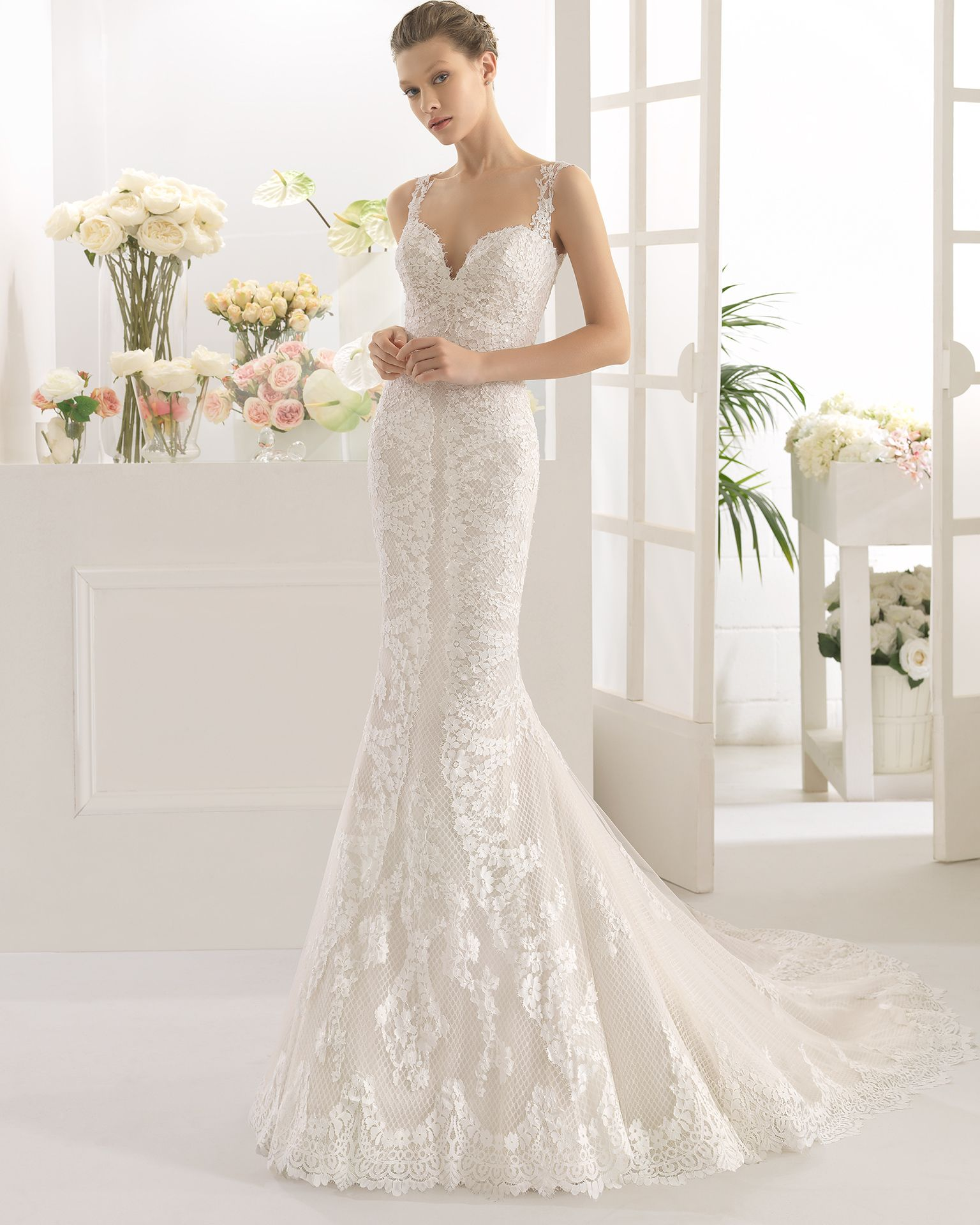 Cache vestido de encaje pedrera boda pinterest wedding aire barcelona 2017 bridal collection has detachable skirts luxe fabrics and some of the prettiest wedding dresses you will ever lay your eyes upon ombrellifo Choice Image