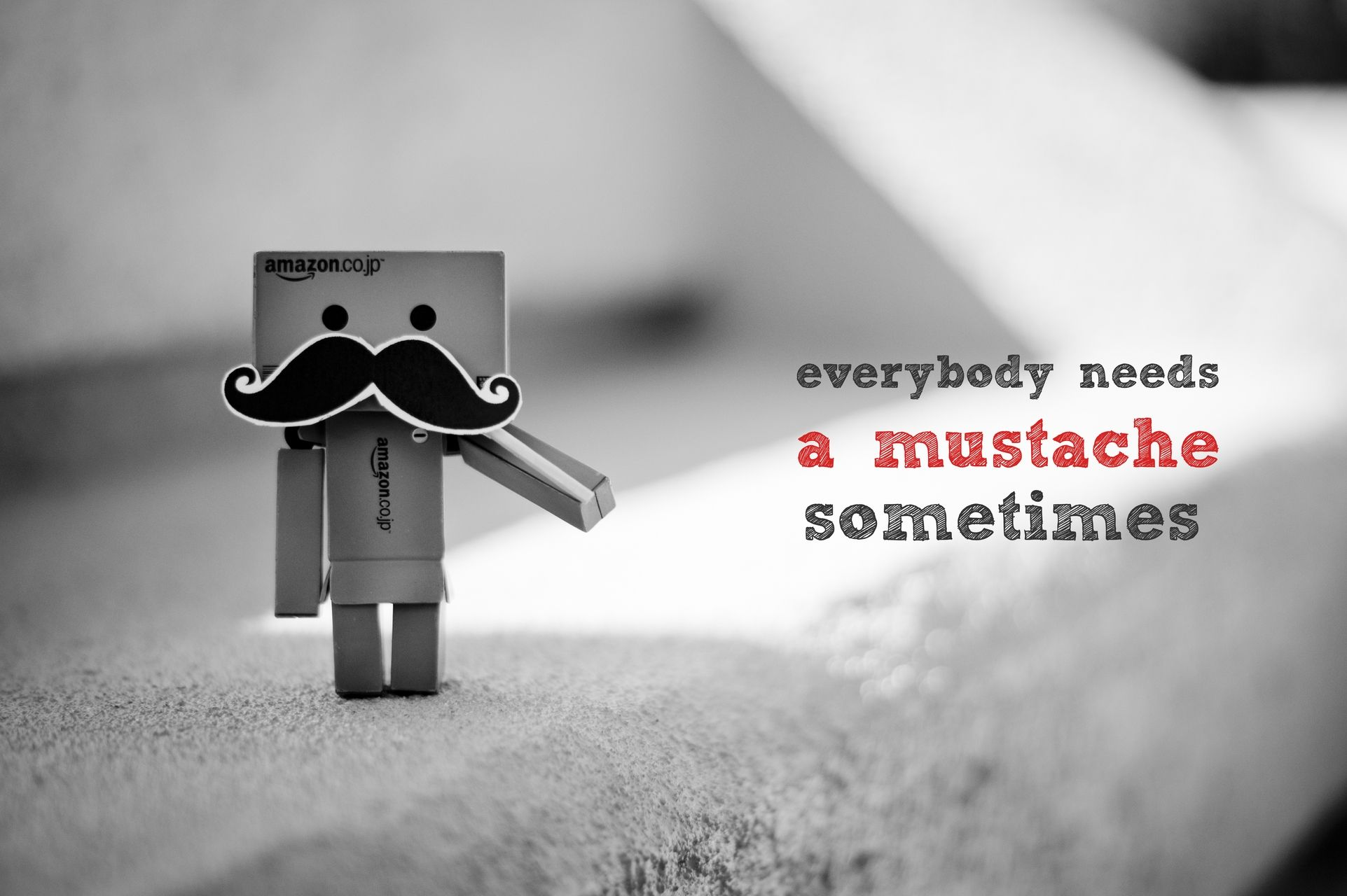 Everybody Needs A Mustache Sometimes - OGQ Backgrounds HD