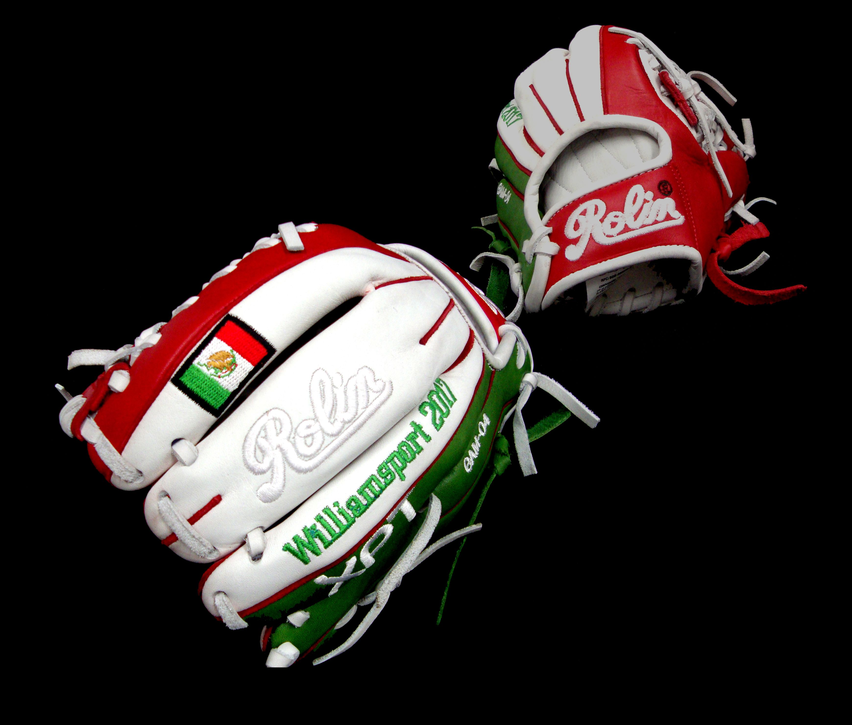 Limited Edition Team Mexico Little League Williamsport Create Your Own Cuztomized Glove At Our Official Web Page Baseball Gear Baseball Glove Softball Gloves