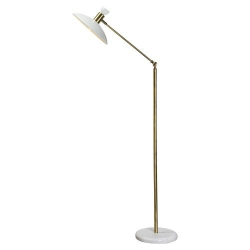 Pavilion - RW 27 - White brass floor lamp , Contact us at sales ...