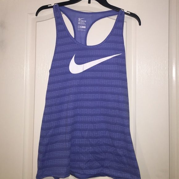 NWT's Nike Dry Fit Tank NWT's Nike Dry Fit Tee- Athletic cut. Periwinkle blue color. Nike Tops #niketops