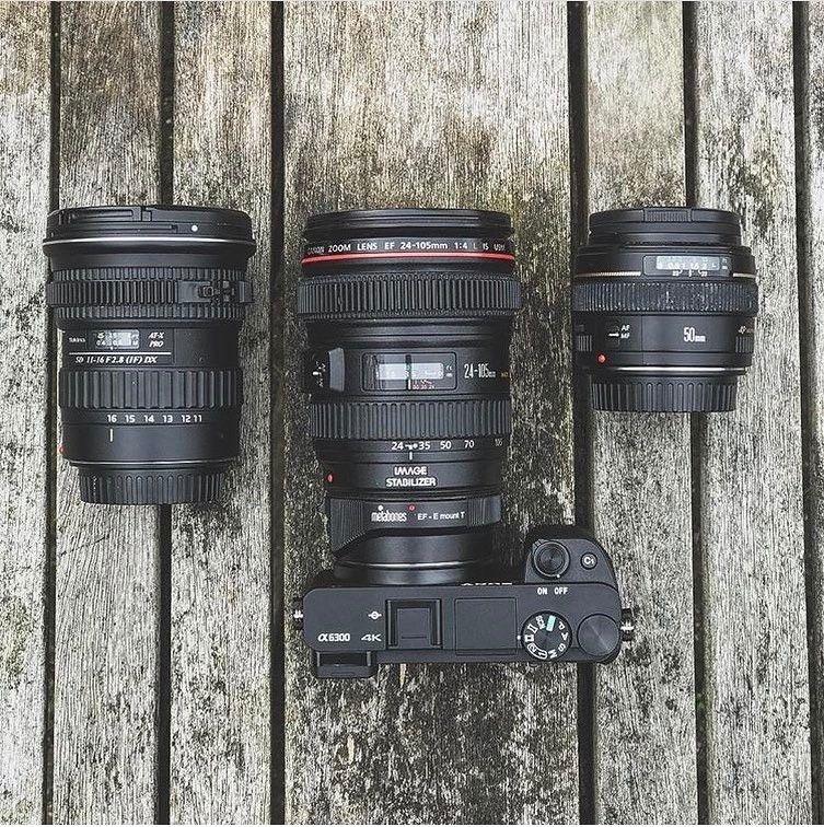 Sony A6300 Canon 24 105 F 4 0 L Tokina 11 16 Canon 50mm F 1 4 Metabones Adapter Go Follow Bushybeardfilms Sony A6300 Sony A7s Ii Mirrorless Camera