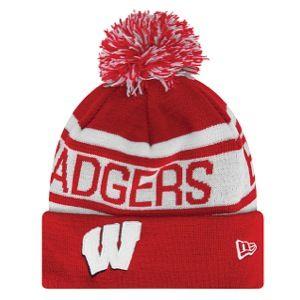Elite Fan Shop Wisconsin Badgers Hat Cardinal