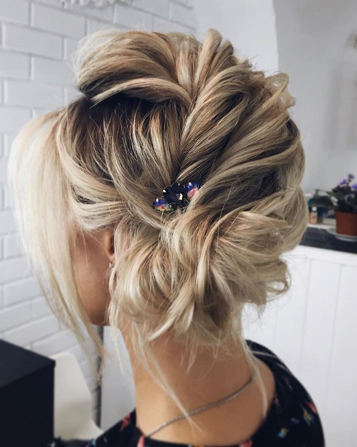 Effortlessly Chic Wedding Hairstyle Inspiration: Wedding Hair Inspiration - Fab Mood