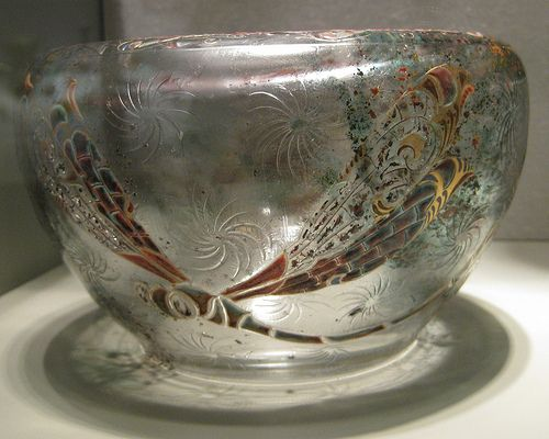 Image result for galle glass dragonfly bowls