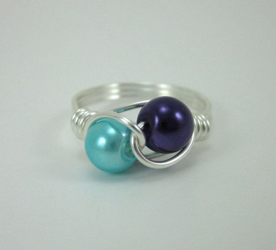 Couple's / Mother's Ring by ShawnaLaneCreations on Etsy, $15.00