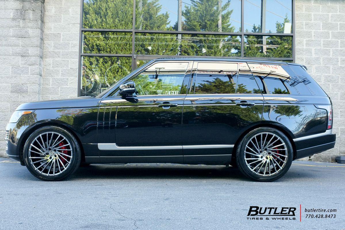 Range Rover Atlanta >> Land Rover Range Rover With 22in Lexani Wraith Wheels