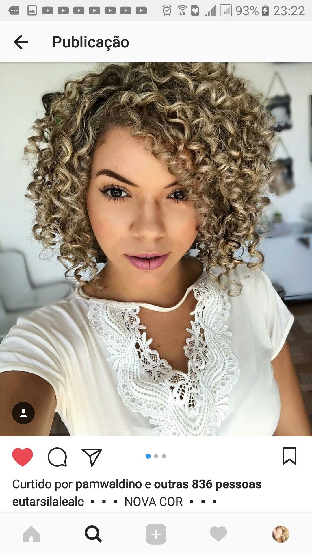 Kivircik Sac Rengi Spiral Perm Short Hair Permed Hairstyles Curly Hair Styles