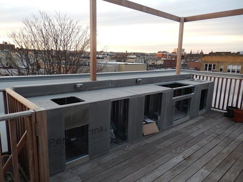 Best Image Of Simple Outdoor Kitchen Frame Kits Build 400 x 300