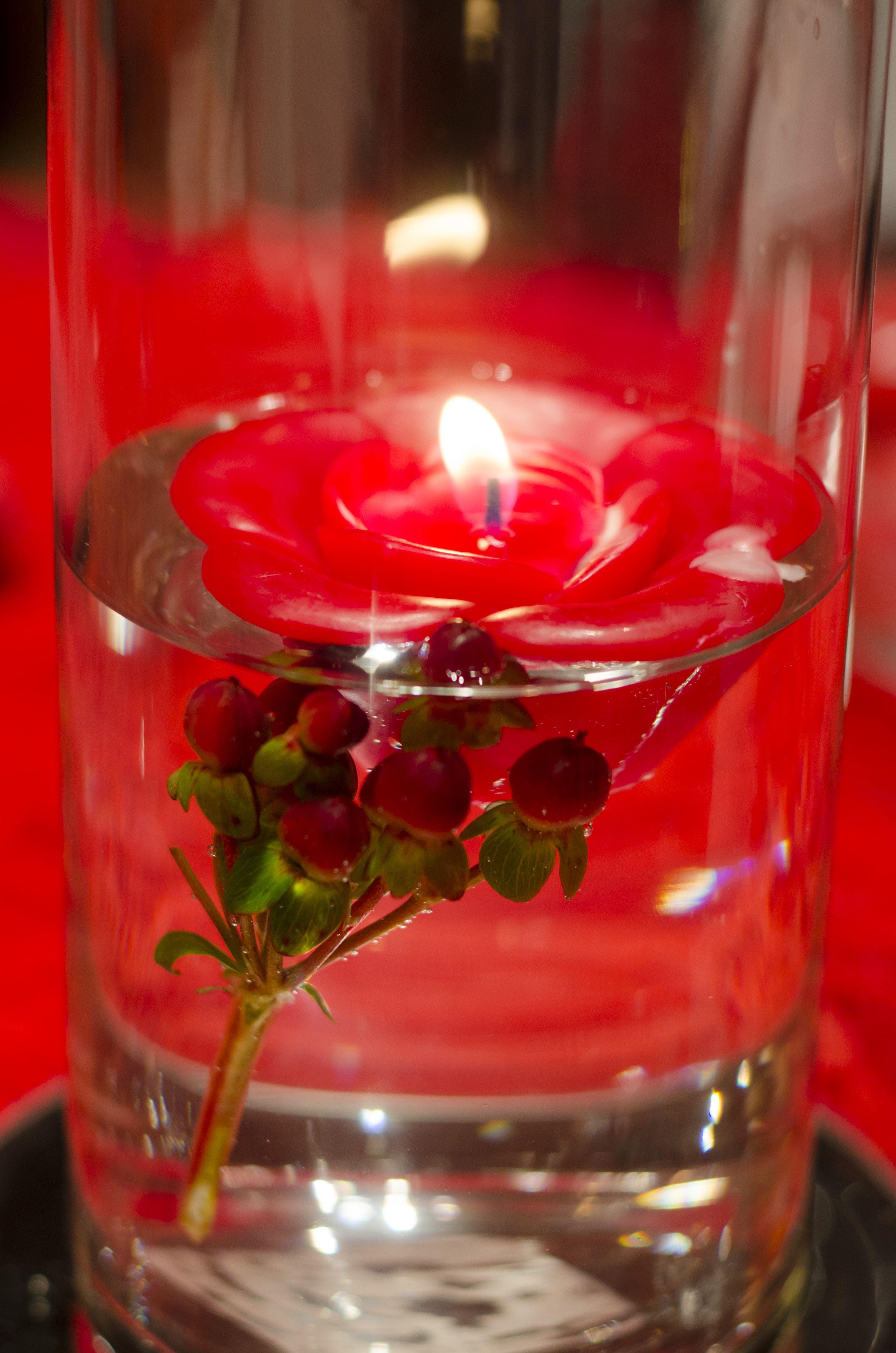 Floating candle vase Floating candle vase, Candle vase